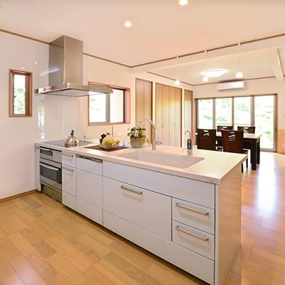キッチン施工例1