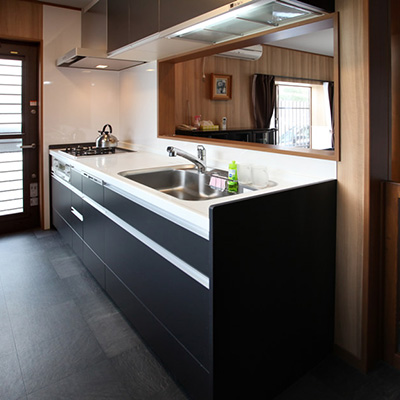 キッチン施工例4